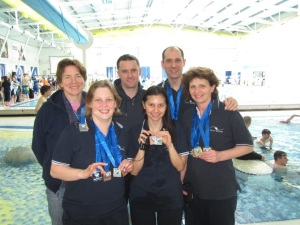 Congratulations to Jenny, Rebecca, Adam, Christine, Luka and Sara on their amazing swims!