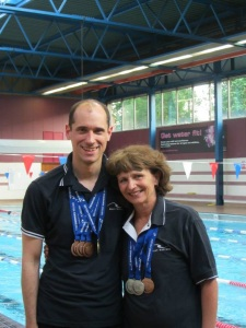 Sara and Luka excel at the British Gas Masters and Senior Age Group Championships 2013 in Plymouth